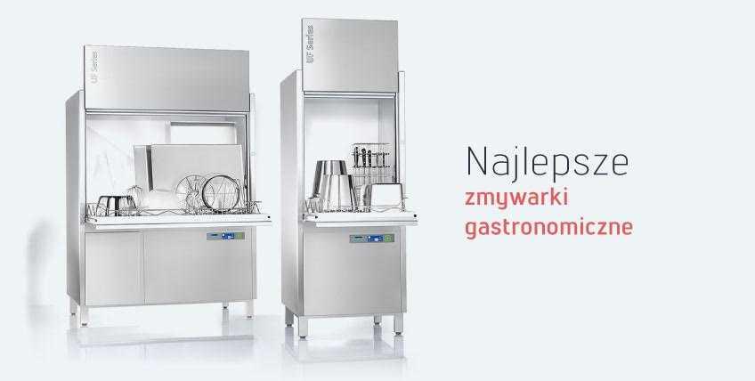 Genialny Zmywarka gastronomiczna z funkcją wyparzania - zakup - Qgast Kraków FE79